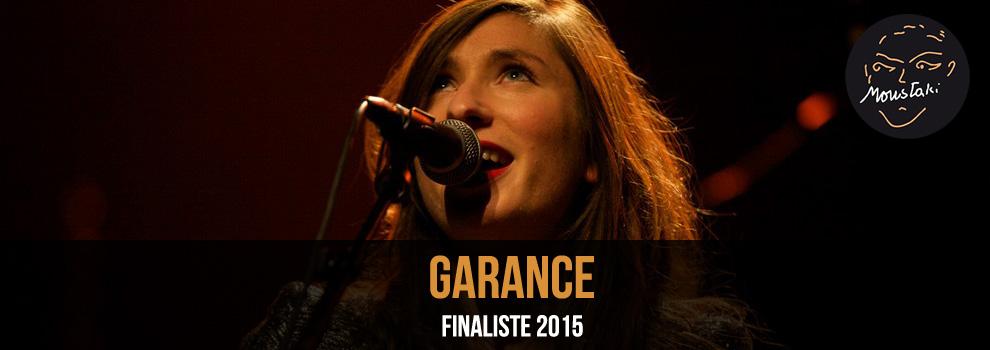 Garance / Finaliste 2015
