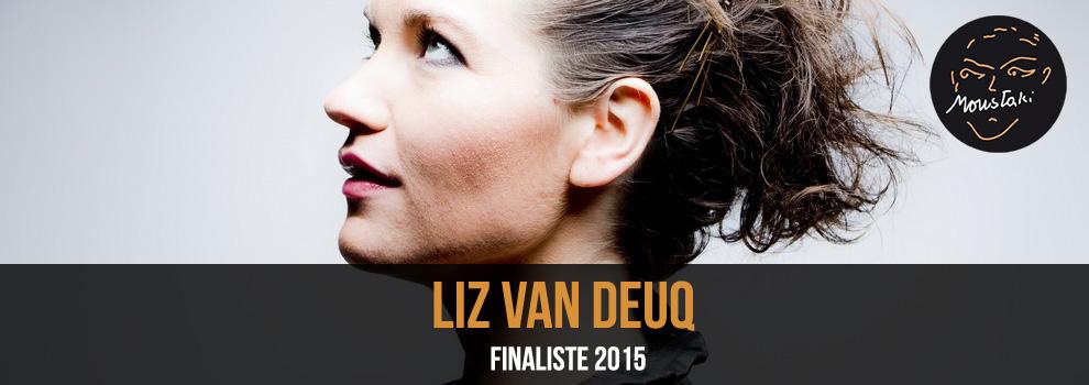 Liz Van Deuq / Finaliste 2015