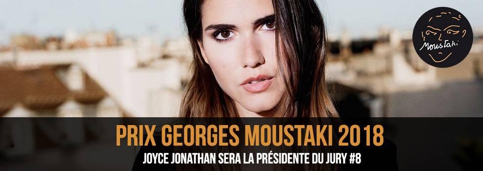 Joyce Jonathan Présidente 2018 Prix Georges Moustaki