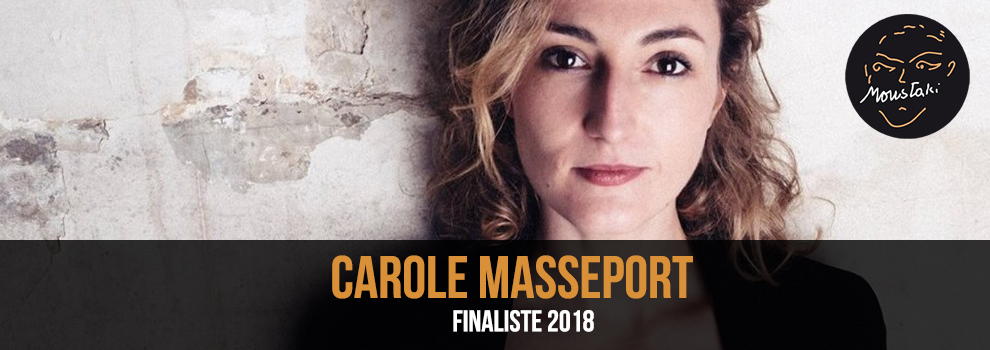 Carole Masseport Finaliste 2018 Prix Georges Moustaki
