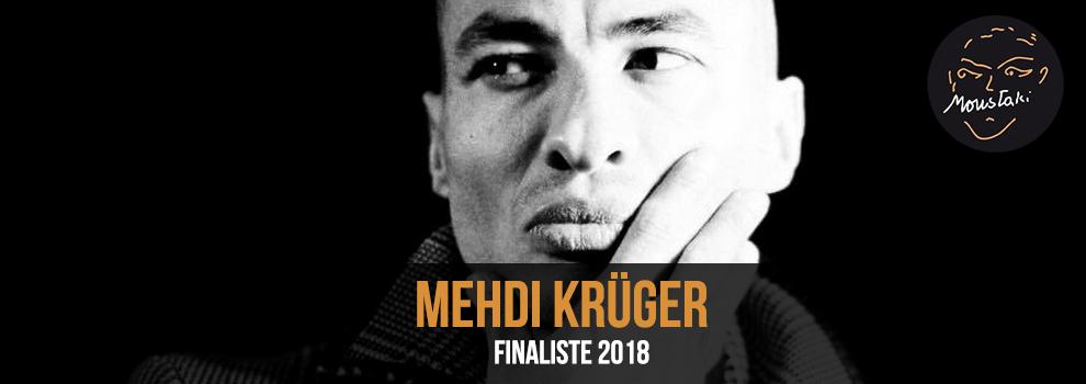Mehdi Krüger Finaliste 2018 Prix Georges Moustaki