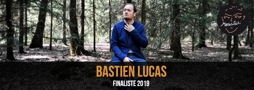Bastien Lucas finaliste Prix Georges Moustaki 2019