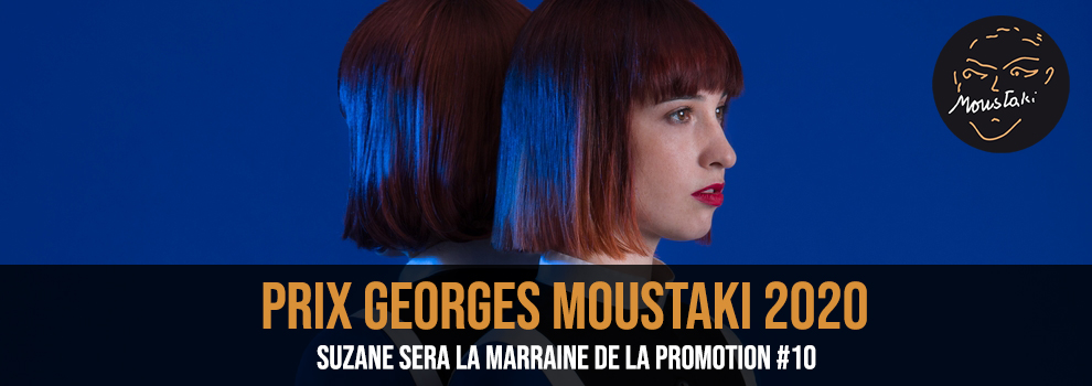 Suzane Marraine Prix Georges Moustaki 2020