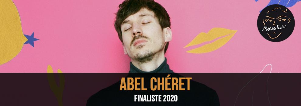 Abel Chéret Finaliste Prix Georges Moustaki 2020