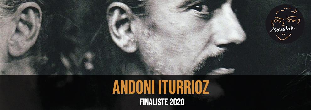 Andoni Iturrioz Finaliste Prix Georges Moustaki 2020