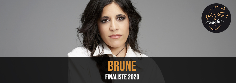 Brune Finaliste Prix Georges Moustaki 2020