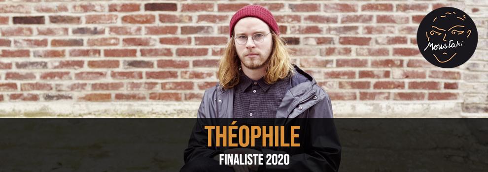 Théophile Finaliste Prix Georges Moustaki 2020