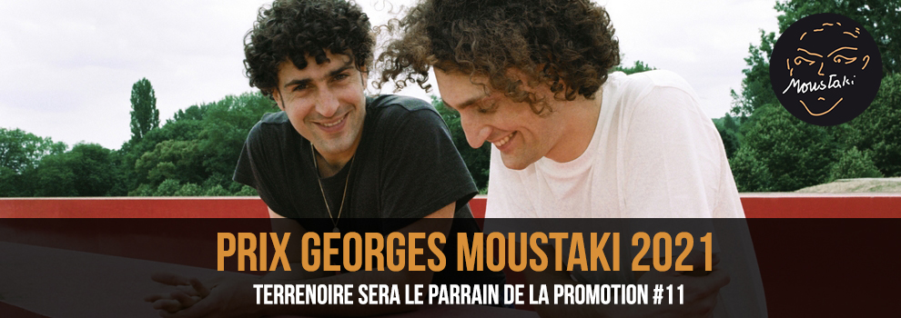 Prix Georges Moustaki parrain 2021 Terrenoire