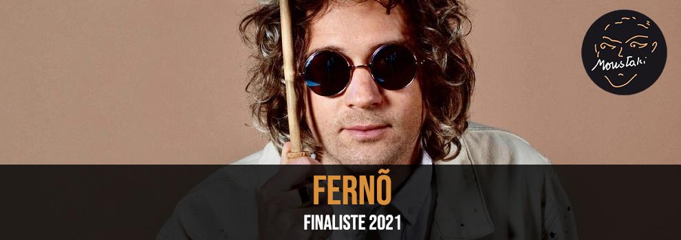 Fernõ finaliste 2021 Prix Moustaki