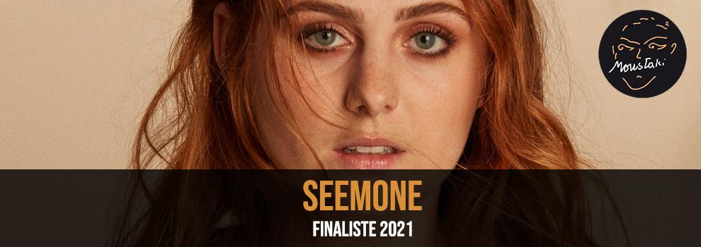 Seemone finaliste 2021 Prix Moustaki