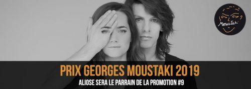 Prix Georges Moustaki 2019 Aliose parrain