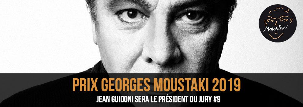 Jean Guidoni Président du jury du Prix Georges Moustaki 2019