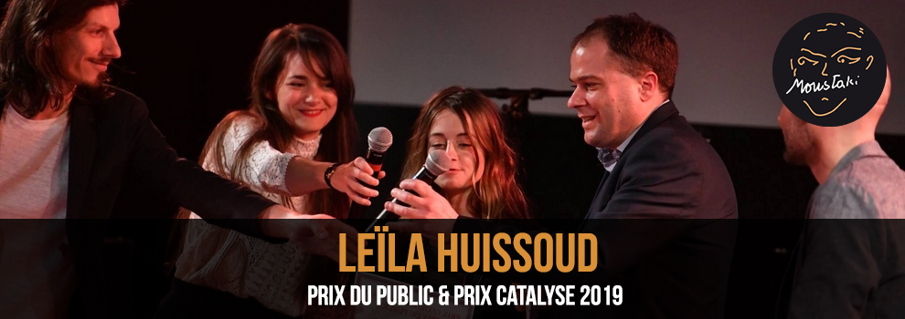 Leïla Huissoud finaliste Prix Georges Moustaki 2019