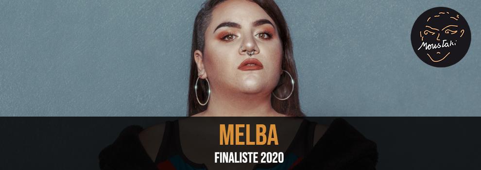 Melba Finaliste Prix Georges Moustaki 2020