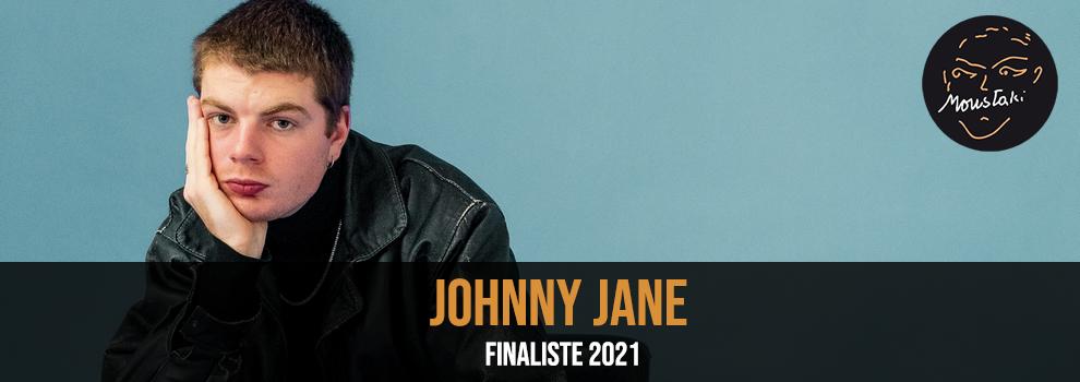 Johnny Jane finaliste 2021 Prix Moustaki